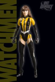 Watchmen Movie Action Figures Silk Spectre Series 1 MIB